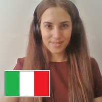 Learn italian with Maria! I can help you improving your italian skills!